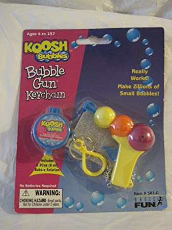 Amazon.com: Koosh burbuja pistola Llavero: Office Products