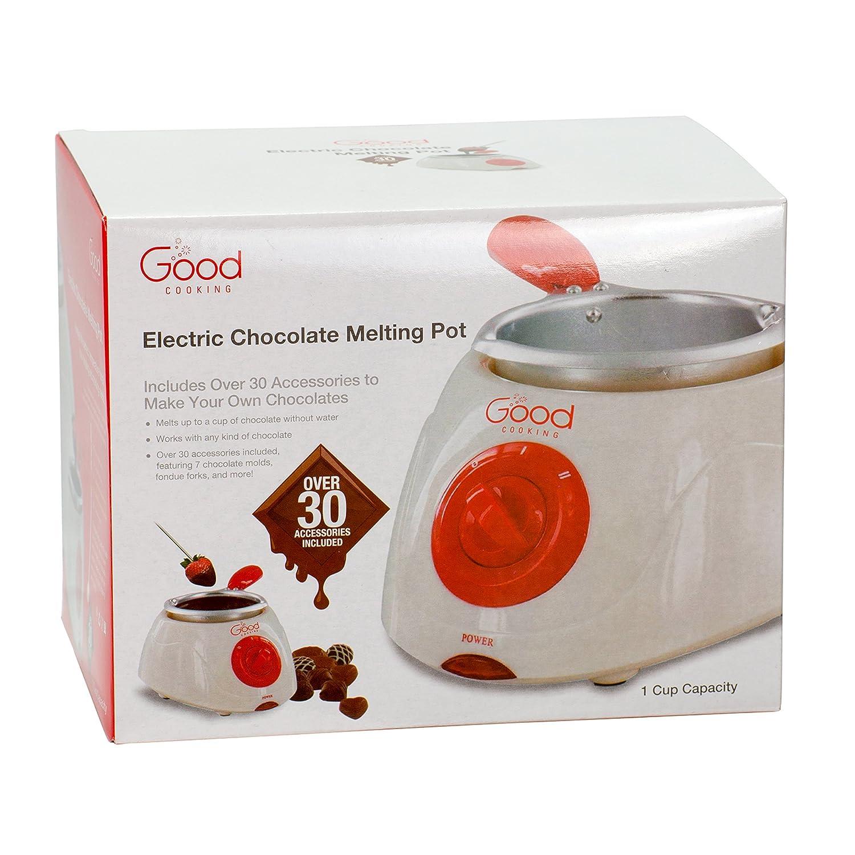 Amazon.com: Chocolate Melting Pot- Electric Chocolate Fondue ...