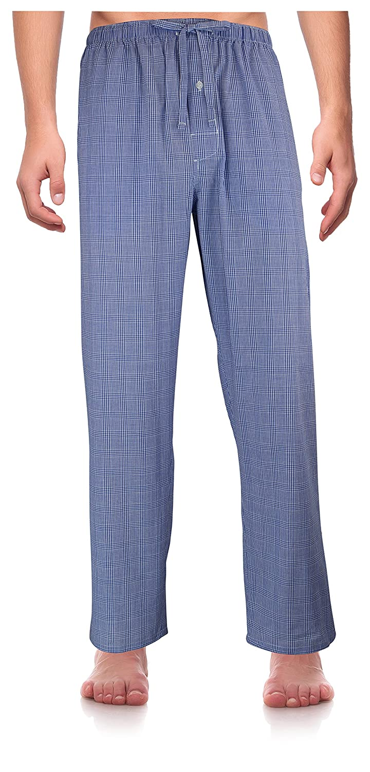 RK Classical Sleepwear Men/'s Woven Pajama Pants,