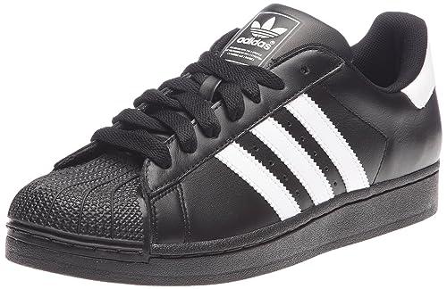 new arrival b2248 d4dce Adidas Superstar II Trainers Originals Trefoil Men s Shoes Sneaker Black  White, Sizes EU
