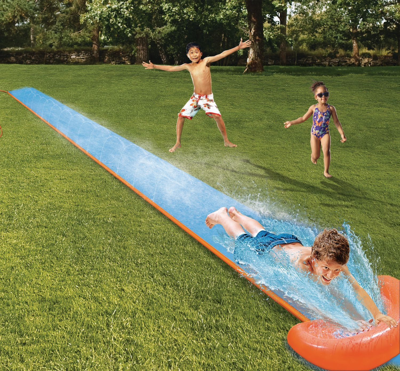 Inflatable Slip And Slide H20 go single Backyard Long For ...