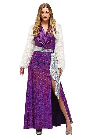Fun Costumes Womens Plus Size Disco Ball Diva Fancy Dress Costume