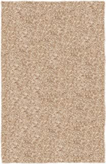product image for Super Shag Area Rug Shaw Swag Collection Feather 6 Feet Round.