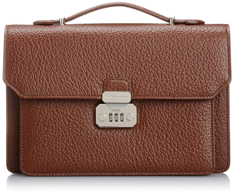 [ミラショーン] ビジネスバッグ B5 ネロ 197507 B004AUADKI ブラウン ブラウン