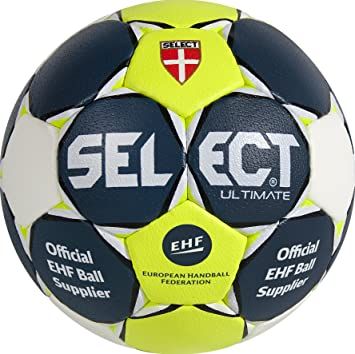 TALLA 2. SELECT Handball Ultimate Balón de Balonmano, Unisex Adulto