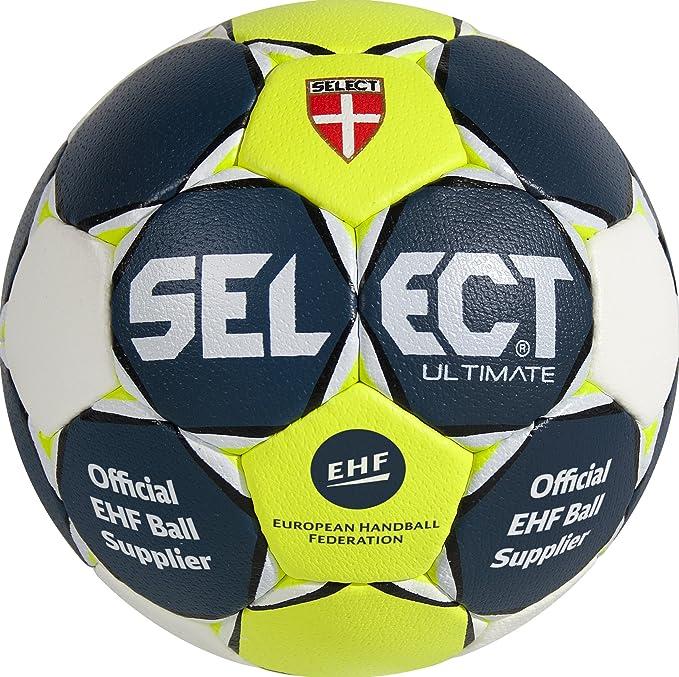 SELECT Ultimate – Balón de Balonmano, Todo el año, Color Blau/Gelb ...