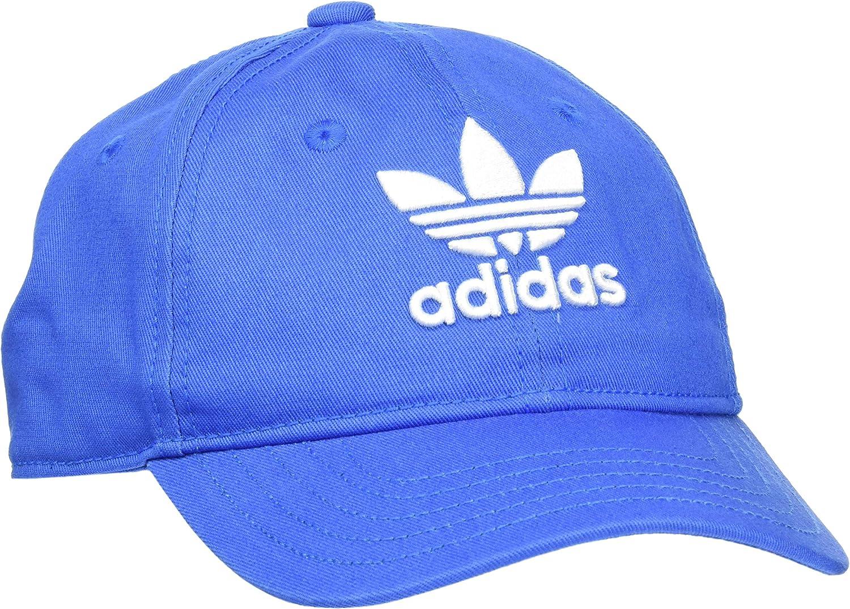 adidas Trefoil Gorra, Unisex Adulto, Azul (azucie), 12/16 años ...