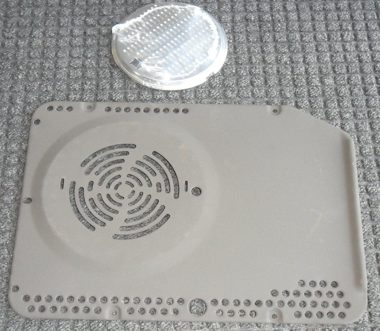 Faure - Conjunto Filtro grasa placa para horno Faure: Amazon.es: Hogar