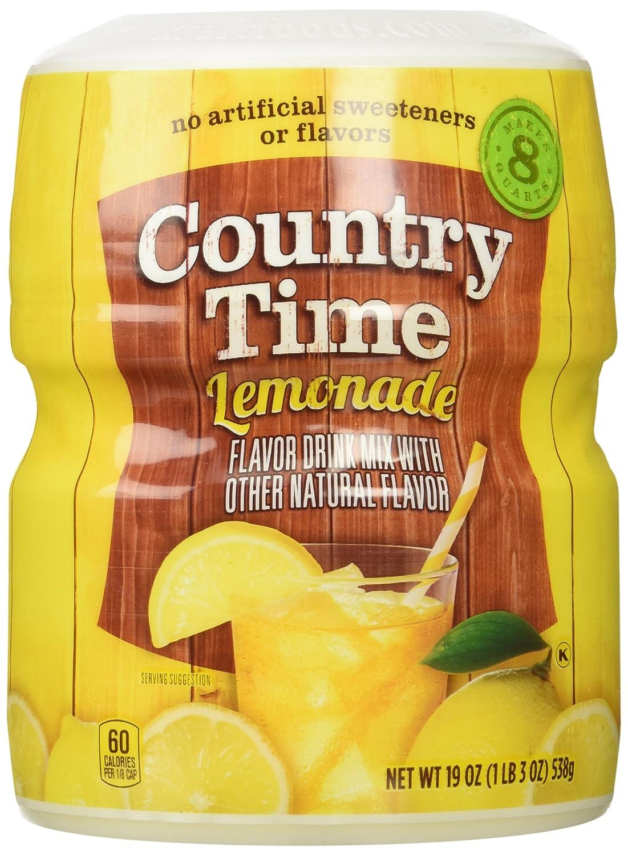 Amazon Country Time Lemonade Drink Mix 19 Oz Makes 8 Qt
