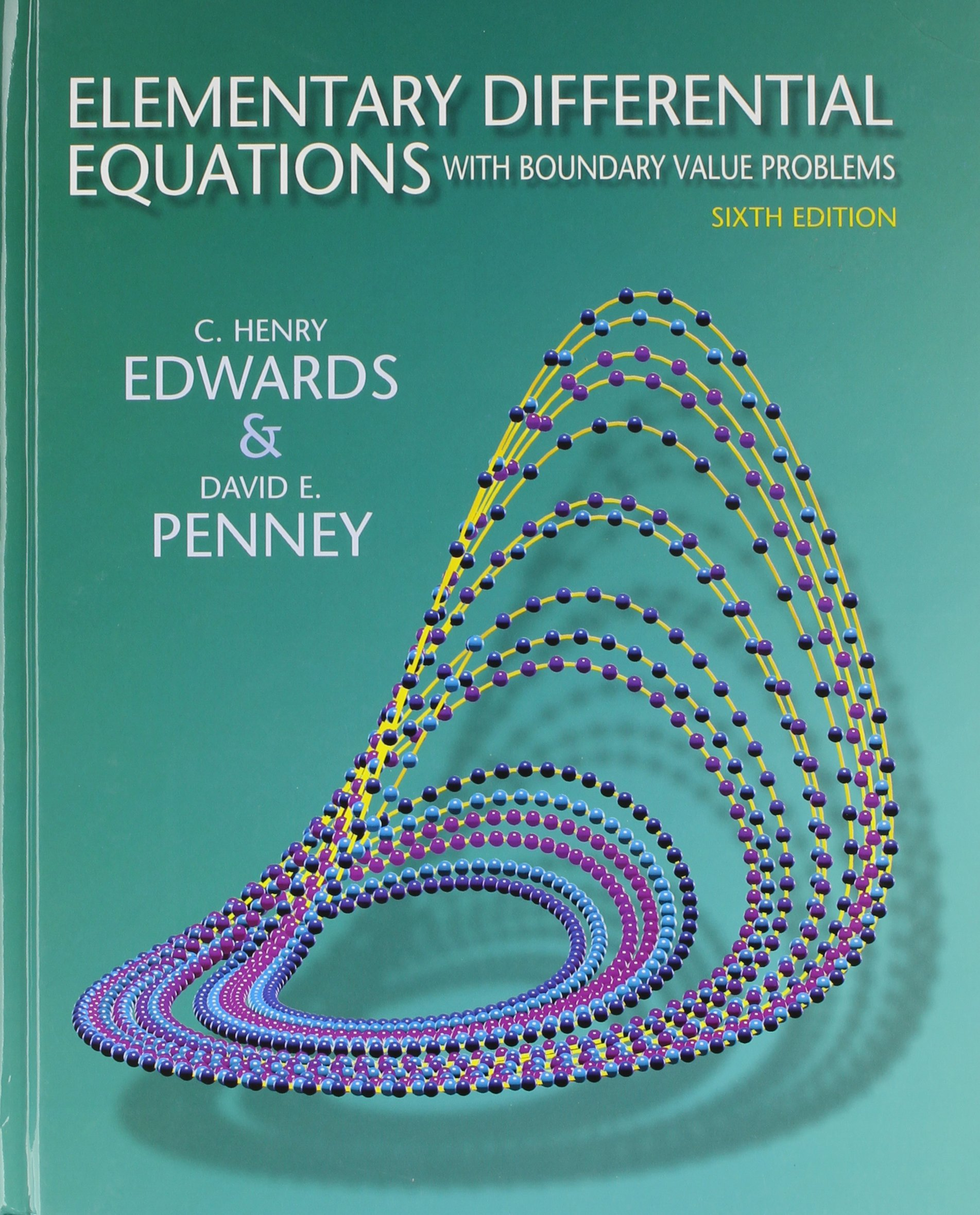 Elementary Differential Equations With Boundary Value Problems + Student Solutions  Manual: C. Henry Edwards, David E. Penney: Amazon.com.au: Books
