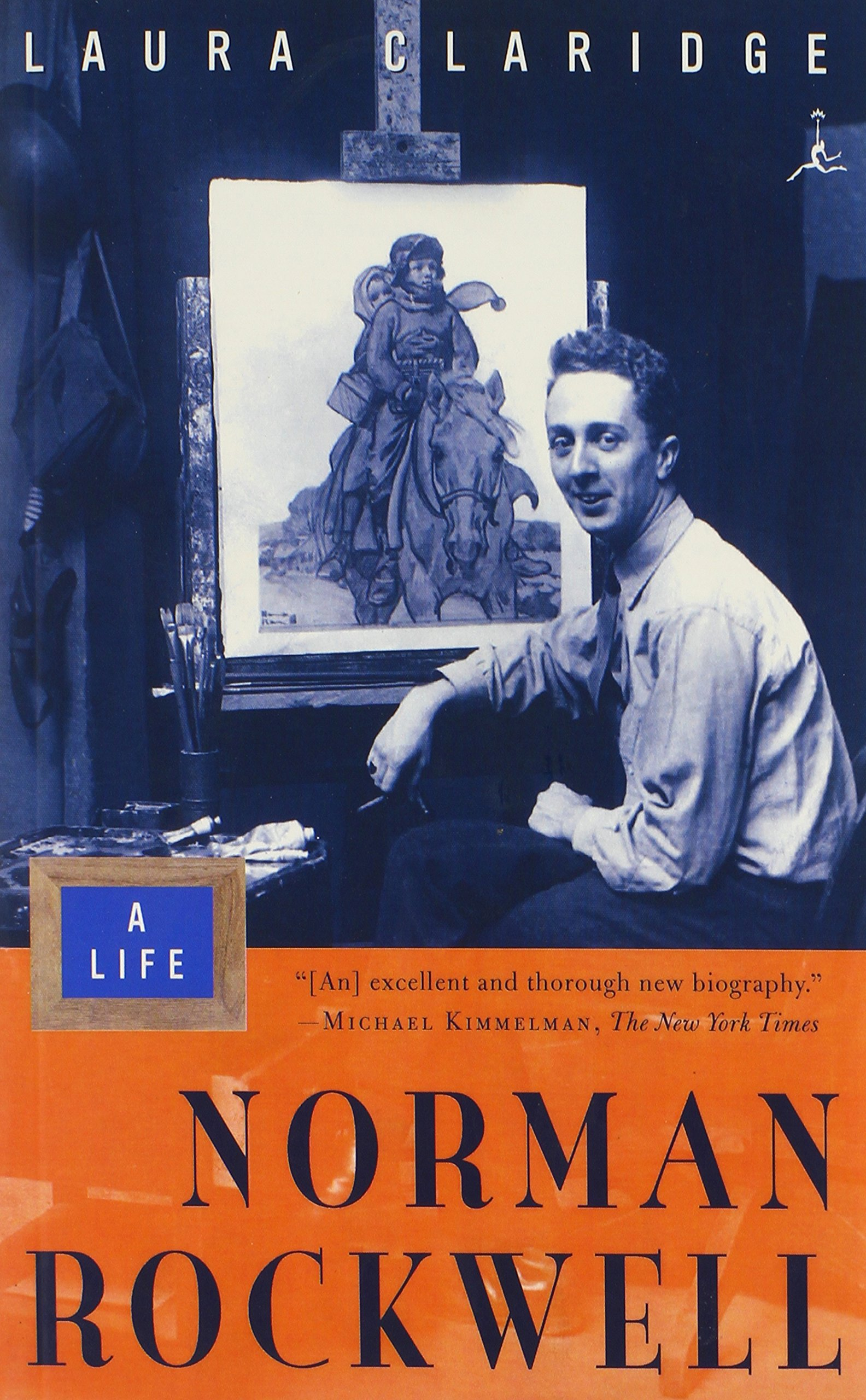 Norman Rockwell A Life Modern Library Paperbacks Laura