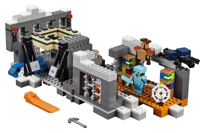 LEGO Minecraft Das EndPortal Amazonde Spielzeug - Minecraft lustige hauser