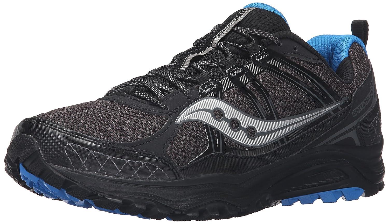 Saucony Men's Grid Excursion Tr10 Men's Footwear 8 D(M) US|Negro/Azul