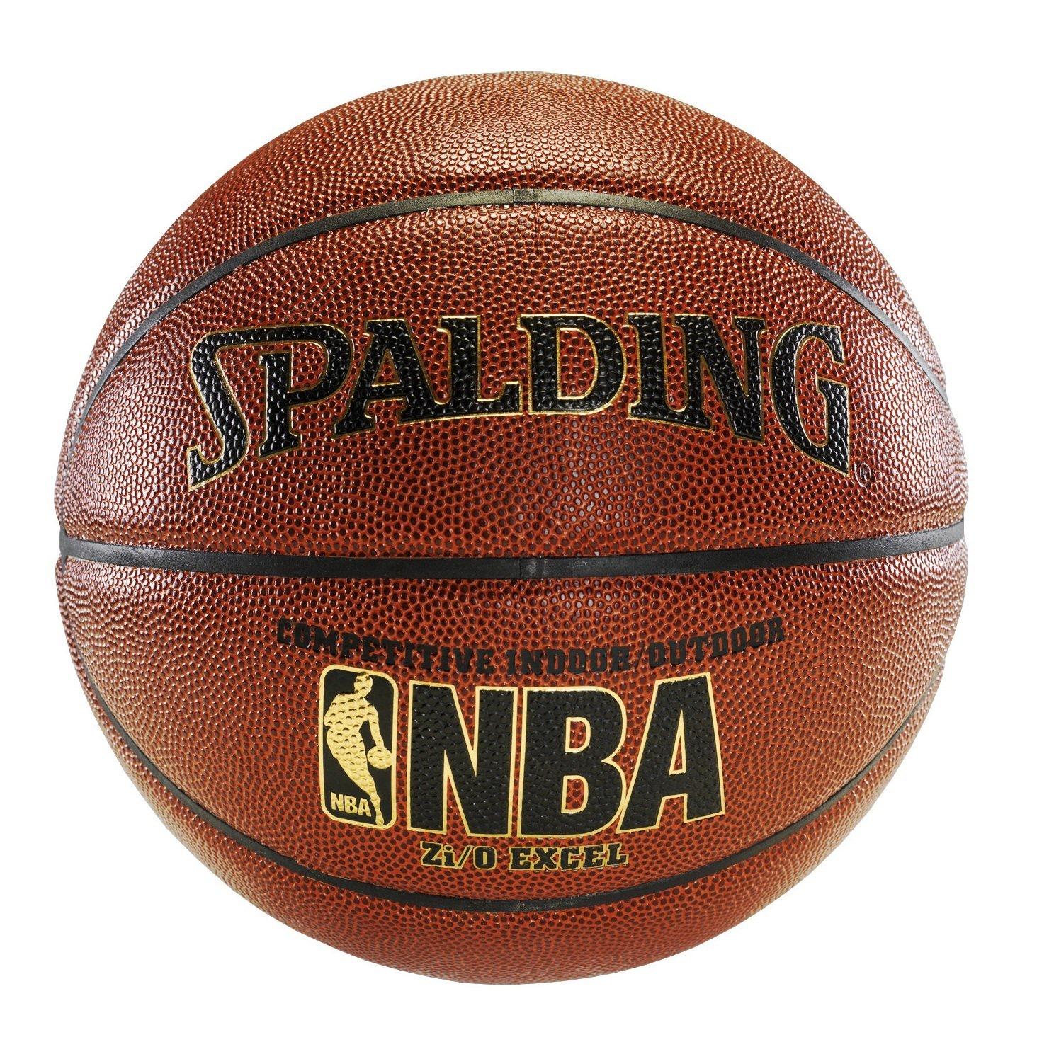 "Spalding NBA Zi/O Excel Basketball Unisex braun Official Size 7 (29.5"") 10205"