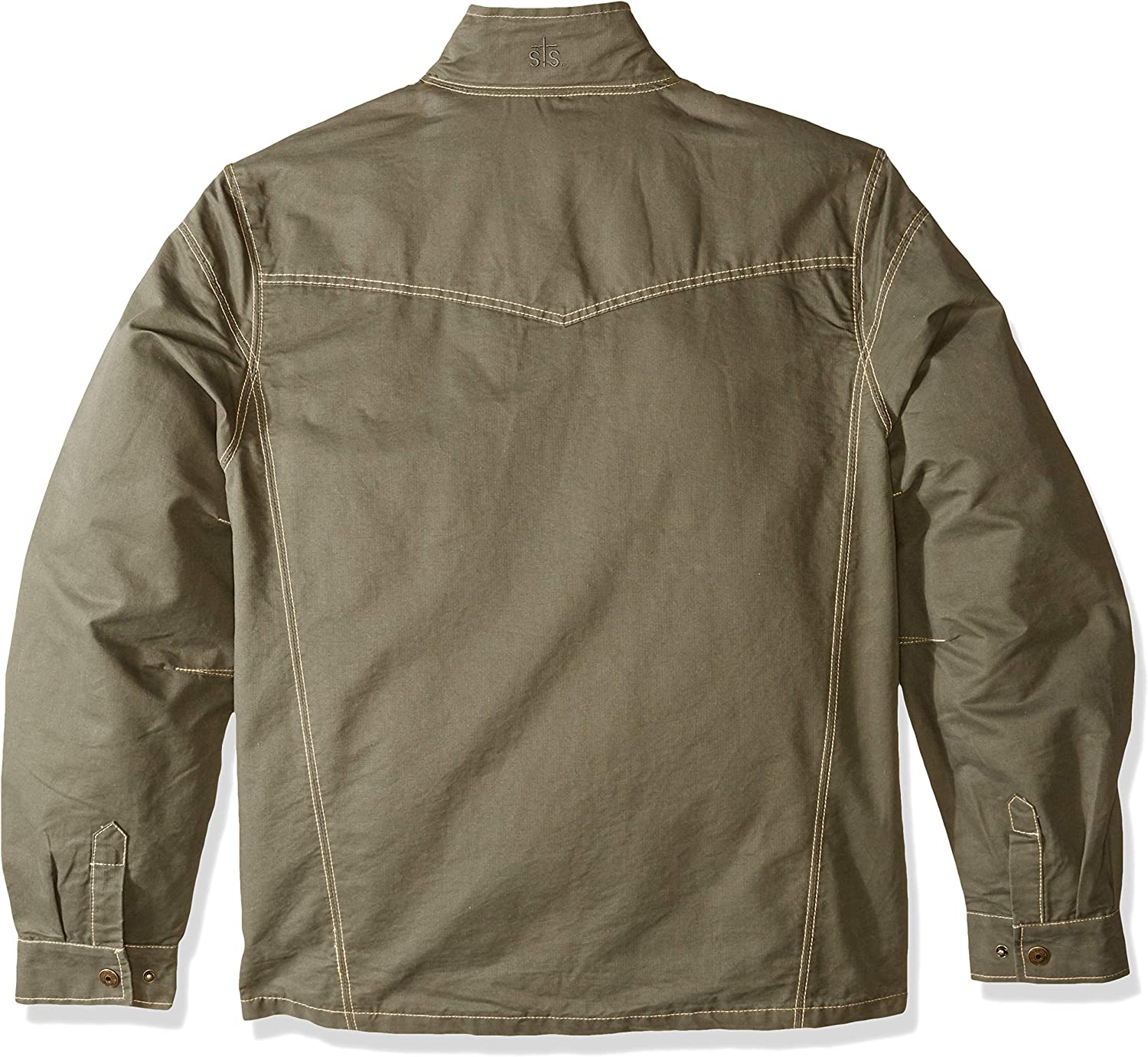 STS Ranchwear Mens Soft Cotton Twill Jacket loden, Extra Large