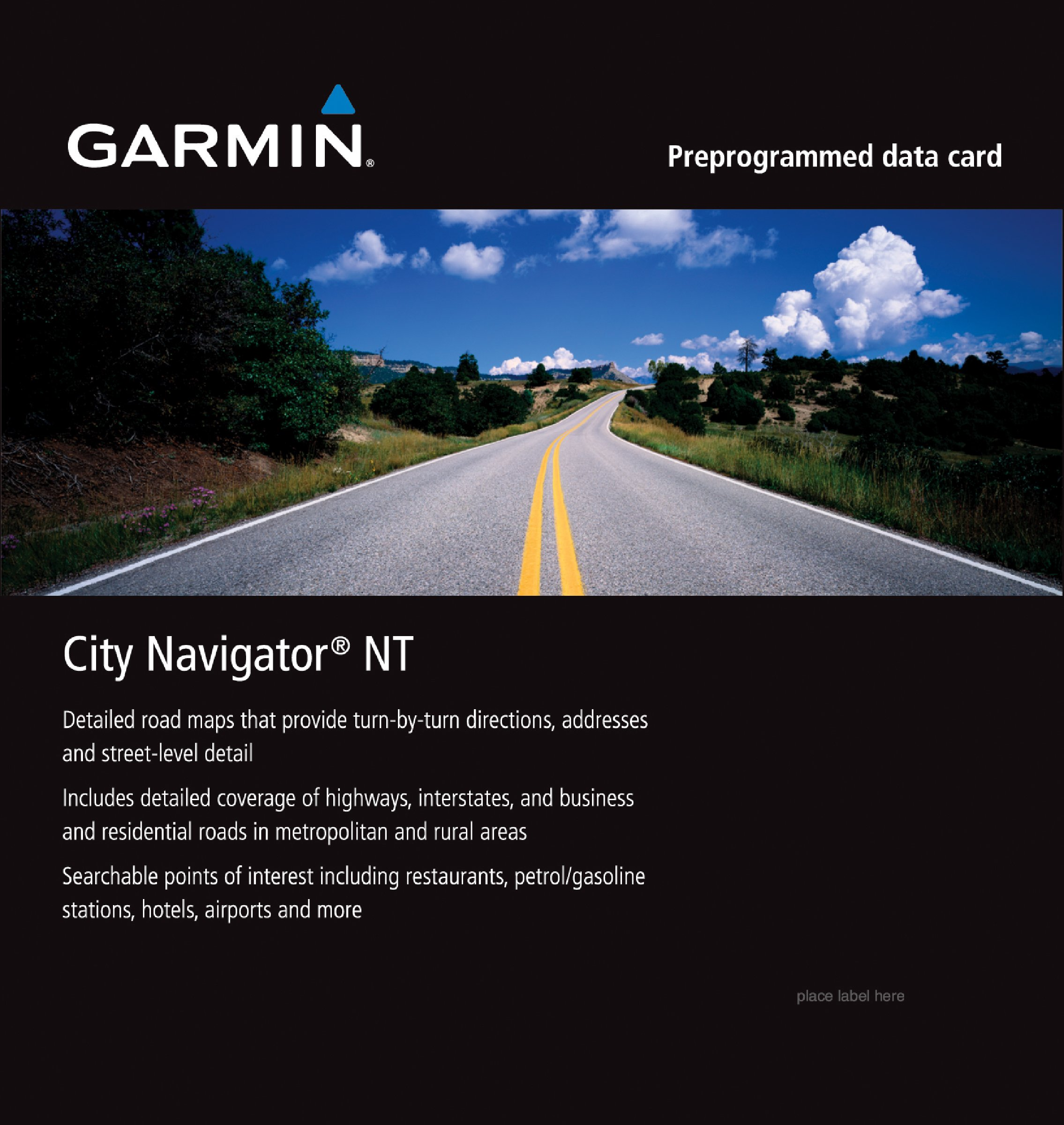 Garmin City Navigator for Detailed Maps of Italy and Greece (microSD/SD Card) by Garmin
