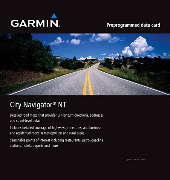 garmin city navigator for detailed maps of italy and greece microsd sd card