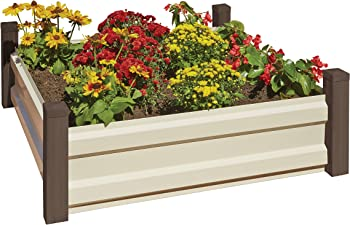 Arrow RBG44 4' x 4' Raised Garden Bed + $124.99 Kmart Credit
