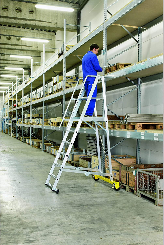 Zarges LM Escalera de plataforma (8 peldaños Z600: Amazon.es: Bricolaje y herramientas