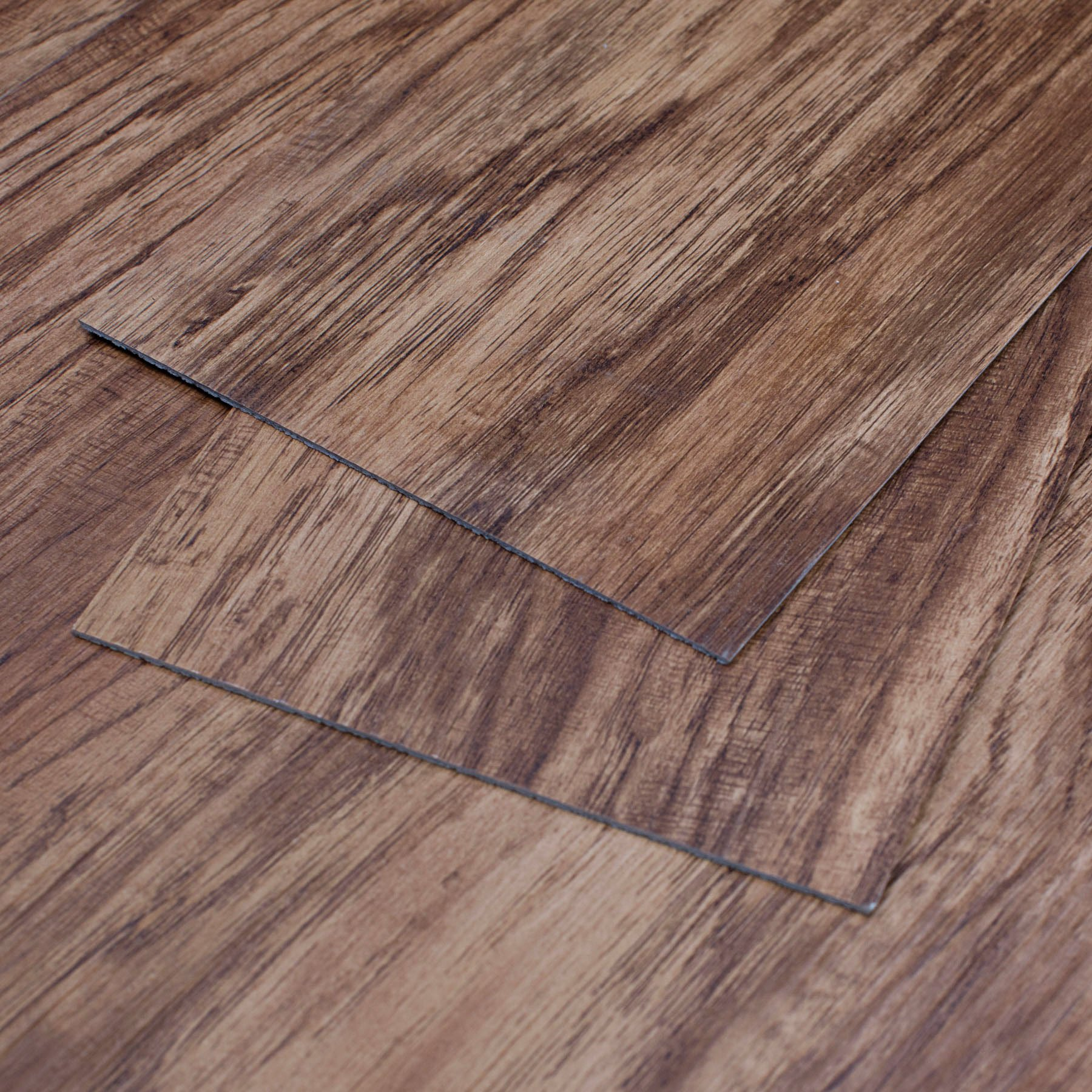 MAYKKE Heirloom Pine 47 Sq Ft Vinyl Plank Flooring 48x6 inch | Resembles Hardwood, Or Use for Wood Accent Wall | Pack of 24, Easy Install JHA1000102 by Maykke (Image #1)