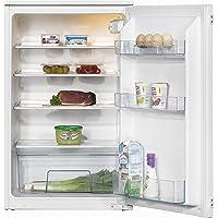 Amica EVKS 16162 Kühlschrank/A+ / 88 cm Höhe / 120 kWh/Jahr / 142 L Kühlteil/Antibakterielle Beschichtung / 3 Glasablagen Sicherheitsglas, Rahmen vorne und hinten/weiß