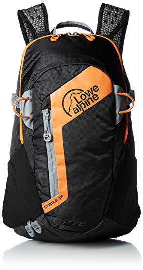 Lowe Alpine Strike, Mochila, multicolor (Black/orange), 18 L, 46 x 28 x 25 cm: Amazon.es: Deportes y aire libre