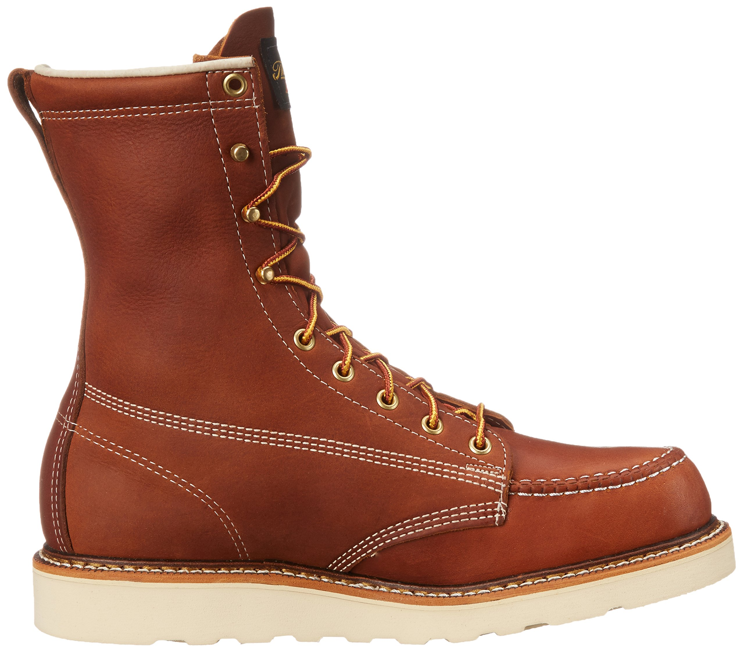 Thorogood Heritage 8'' Safety Toe Work Boot, Tobacco Oil Tanned, 10 EE US by Thorogood (Image #7)