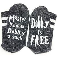 Engmoo Novelty Socks Cotton Socks Master has Given a Socks for Women Men
