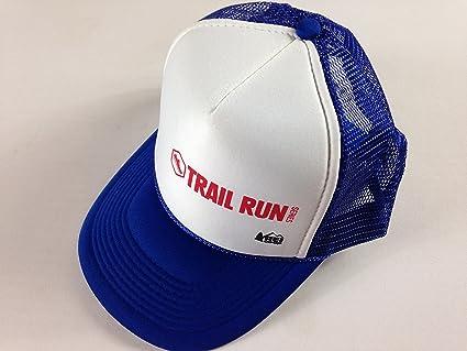 Amazon.com   REI Trail Run Hat Foam Front Snapback Co-Op Series Blue ... 169a81db9b4