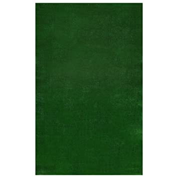 Amazon.com: Ottomanson Evergreen Collection Indoor/Outdoor Green Artificial  Grass Turf Solid Design Area Rug Rv Patio Mat, 6u00276 X 9u00273: Home U0026 Kitchen