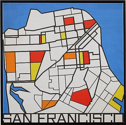 Amazon Brand Rivet Pop Art Print of San Francisco