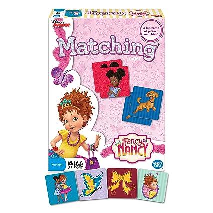 Amazon.com: Disney Fancy Nancy - Juego de mesa a juego: Toys ...