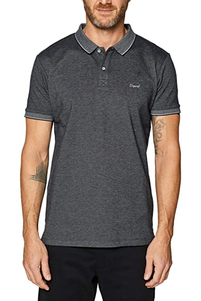 Esprit 029EE2K025 Polo, Negro (Black 001), M para Hombre: Amazon ...