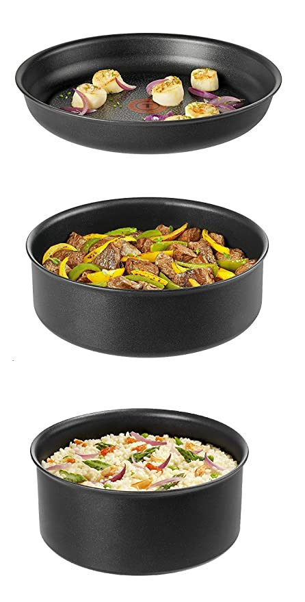 Amazon.com: Tefal Ingenio 5 l6549602 Set of Frying Pans and ...