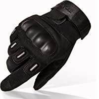 TitanOPS Full Finger Half Finger Hard Knuckle Motorcycle Military Tactical Combat Training Army Shooting Outdoor Gloves