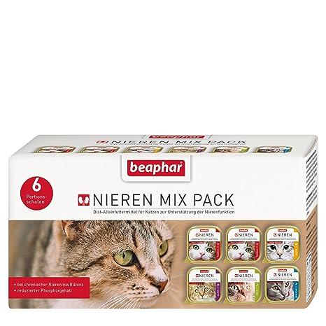 beaphar Nieren & Diät Mix Pack für Katzen 6 x 100g
