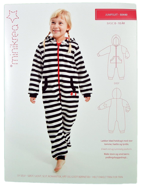 Schnittmuster Schlafanzug Einteiler für Kinder / Gr. 50-146cm ...