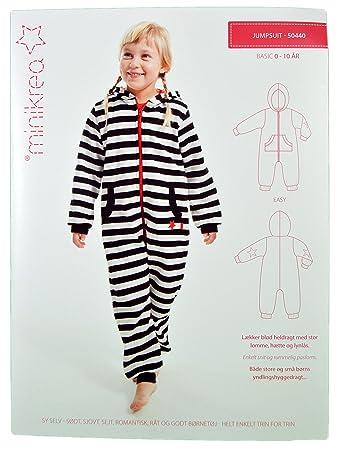 Schnittmuster Schlafanzug Einteiler für Kinder/Gr. 50-146cm/5x0440 ...