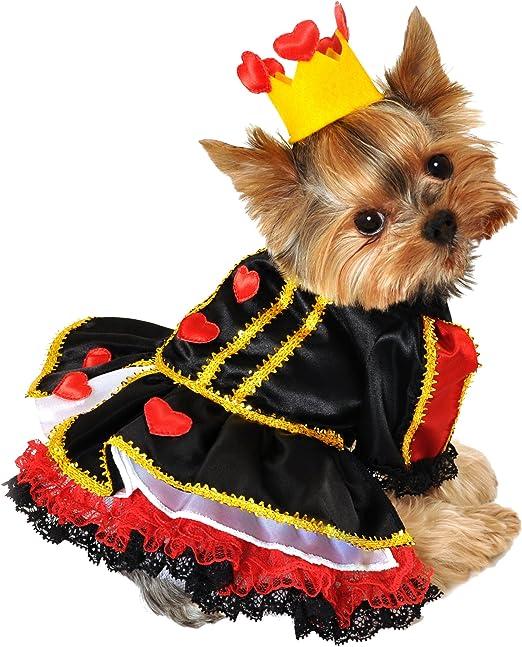 Anit Accessories Disfraz de Reina Real de Corazones de 12 Pulgadas ...