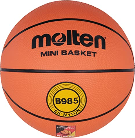 MOLTEN B985 - Pelota de Baloncesto, Color Naranja, Talla 5: Amazon ...