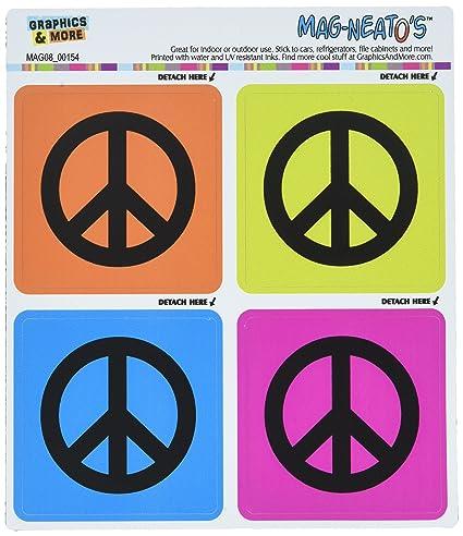 Símbolo de la Paz símbolos mag-neato del (TM) Automotive ...