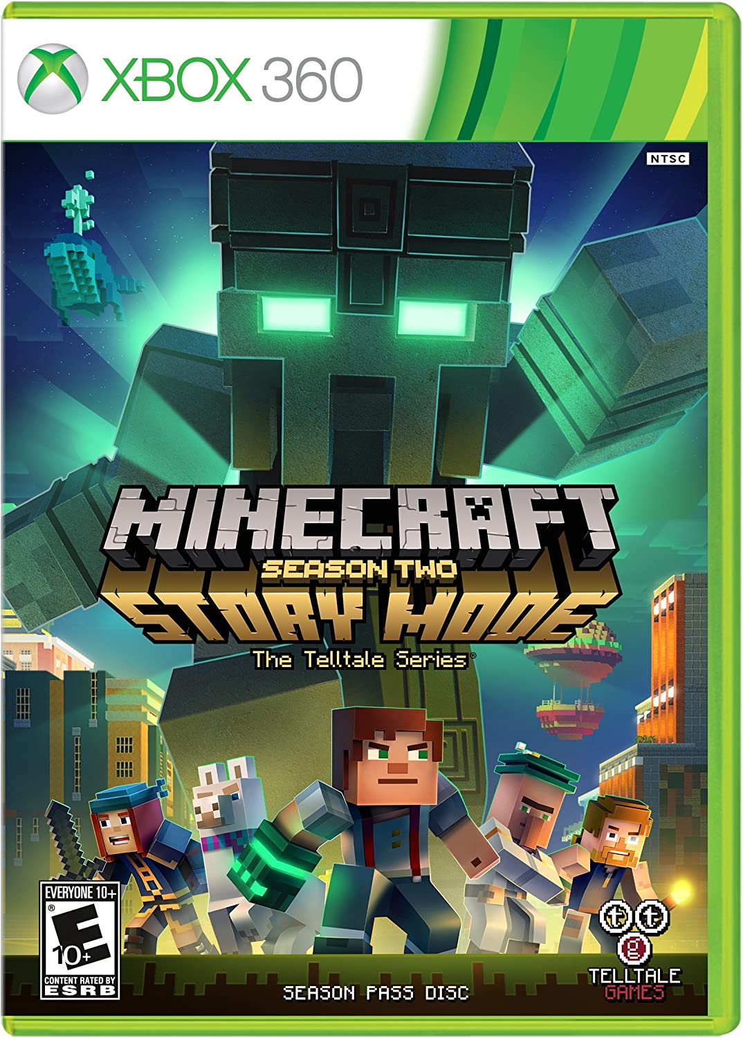 Minecraft Story Mode: Season Two Xbox 360 Oyun İndir [Google Drive] [FULL-ISO] [PAL & NTSC-U]