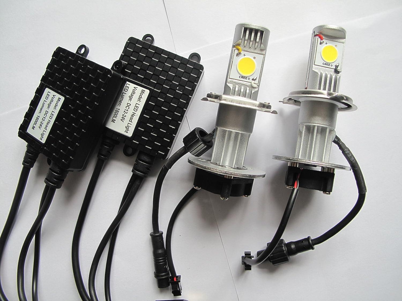 H4 led scheinwerfer lampen 6000k 1800 lm 1224 volt amazon h4 led scheinwerfer lampen 6000k 1800 lm 1224 volt amazon auto parisarafo Gallery