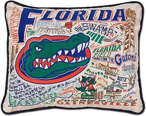 Catstudio University of Florida Collegiate Embroidered Decorative Throw Pillow