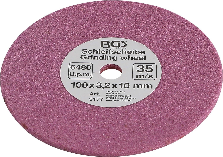 3//8 1//4 0,325 e 10 3177 100 x 3,2 x 10 mm BGS Disco smerigliatore 6,3