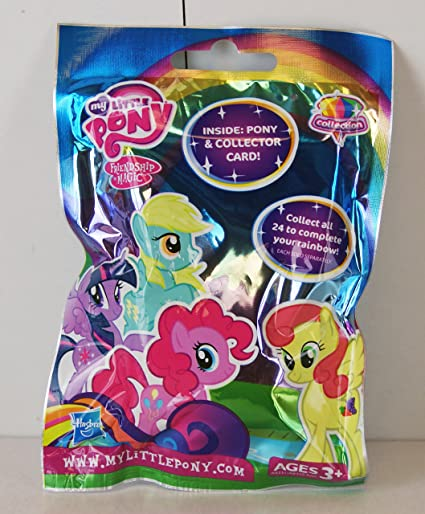 Amazon Com My Little Pony Surprise Bag Mini Figure Wave 10 Glitter