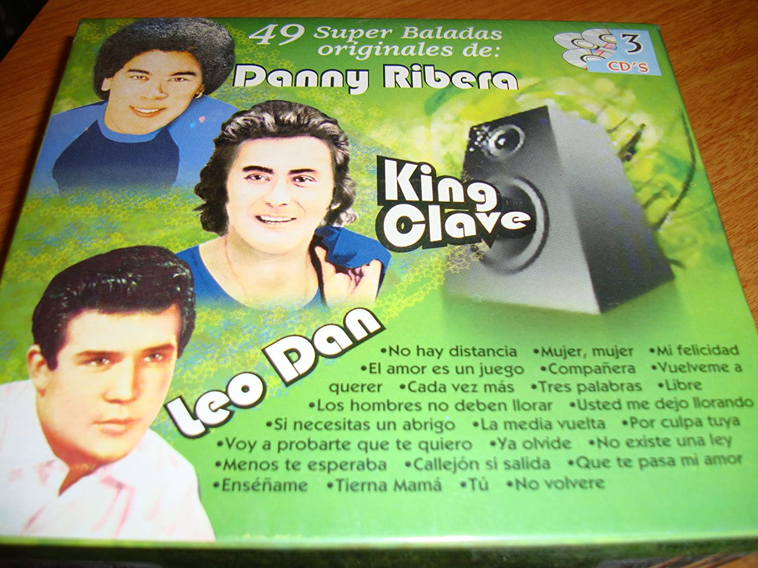 King Clave, Leo Dan Danny Ribera - 49 Super Baladas Originales - Amazon.com Music