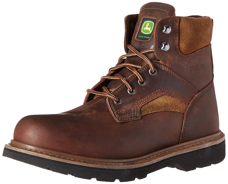 John Deere Men's 6-Inch Farm EH LU Work Boot