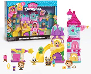 Disney Doorables Enchanted Princess Playset, Amazon Exclusive