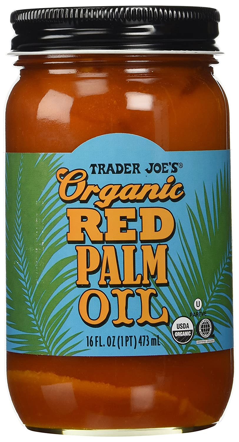 Amazon.com : Trader Joe\'s Organic Red Palm Oil : Grocery & Gourmet ...